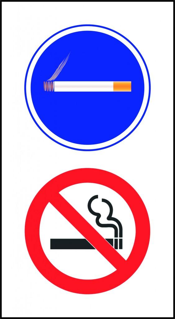 Permitido Fumar Prohibido fumar