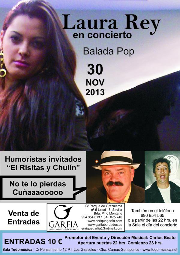 CARTEL Laura Rey + Risitas COMPRIMIDO