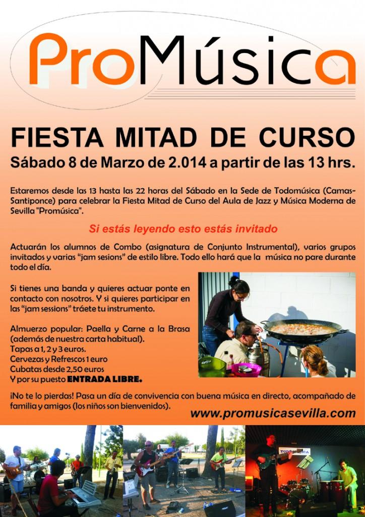 Cartel Fiesta Mitad de Curso-Reducido