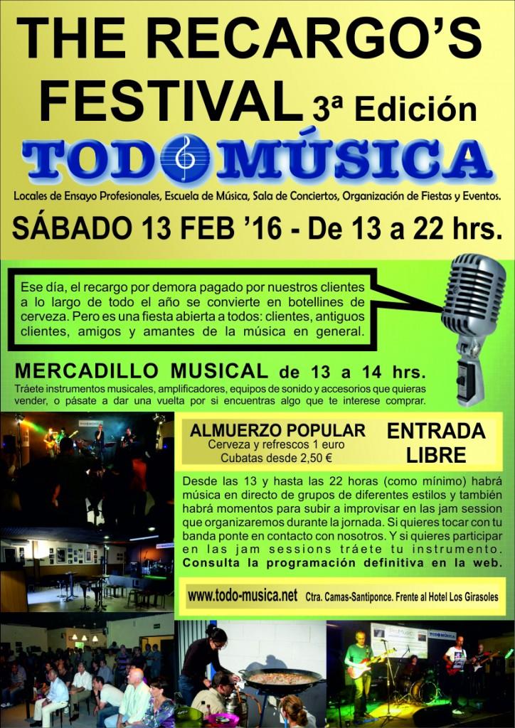 Festival del Recargo III-REDUCIDO
